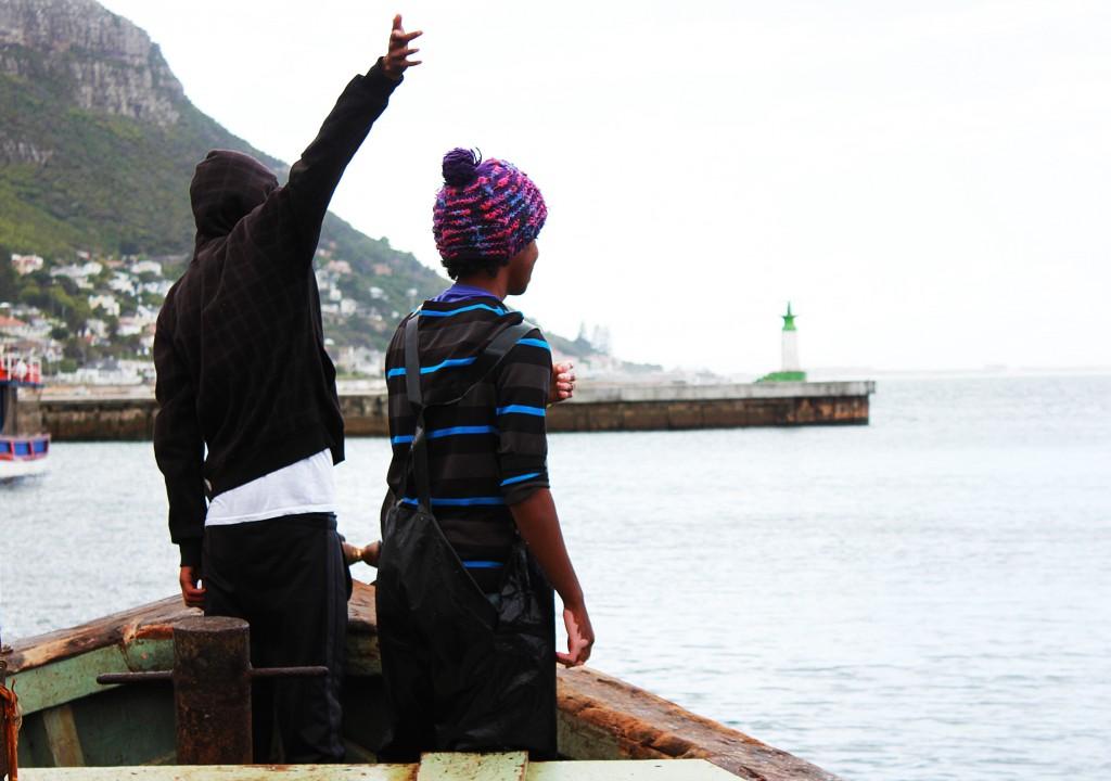 Fishermen sea