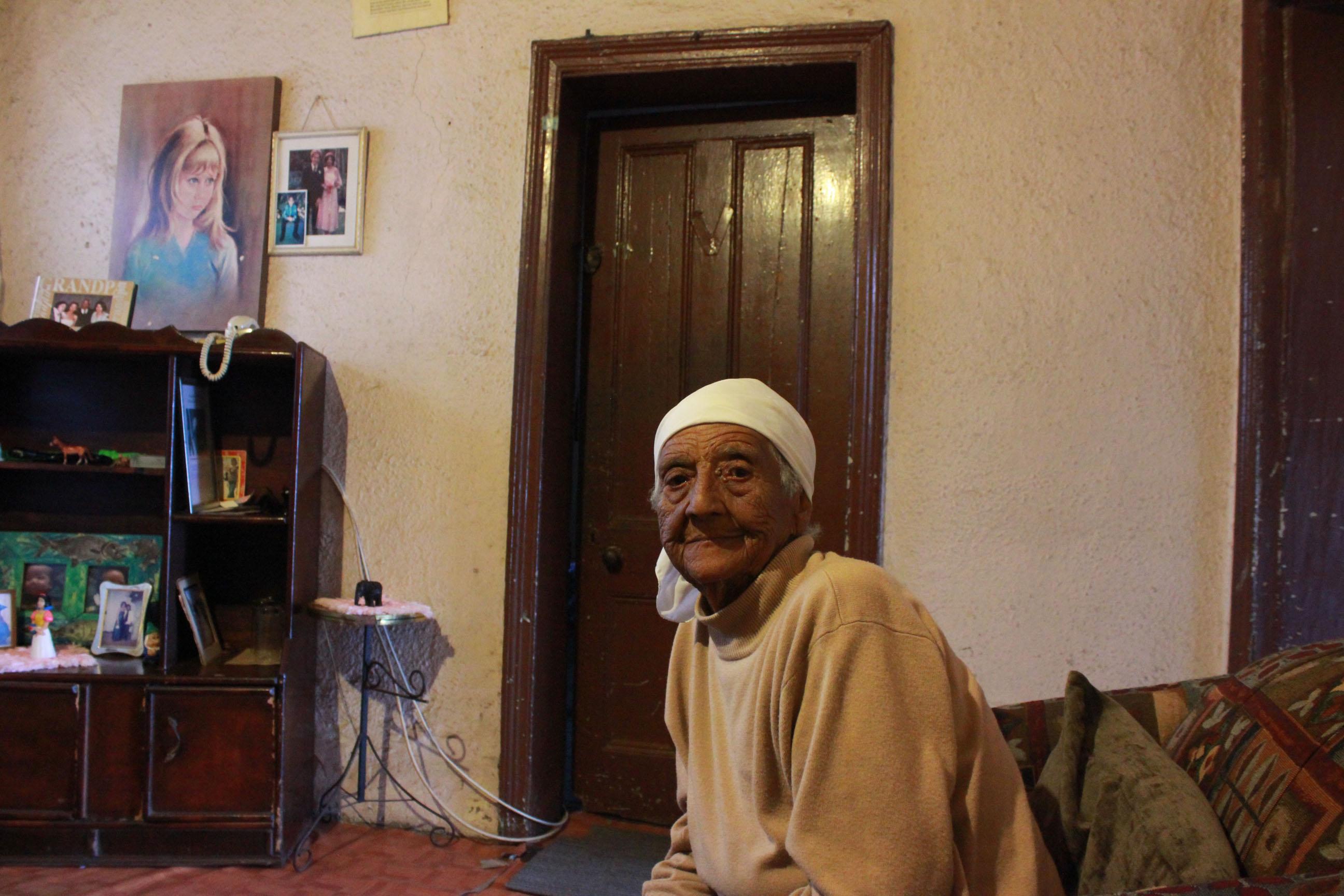 Silvia inside house