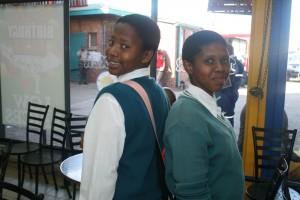 Amanda and Ntombenkosi