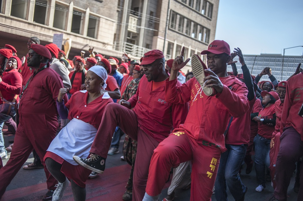 EFF MARCH TO LEGISLATURE IH 6