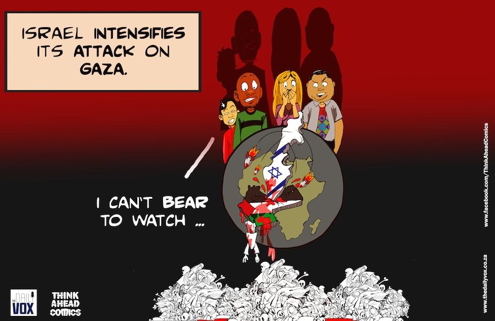 Gaza Israel cartoon final