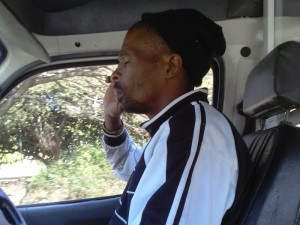 Nipho the taxi driver