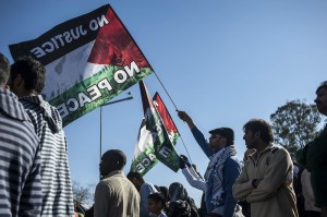 SOUTH AFRICANS PROTEST FOR GAZA IH 3