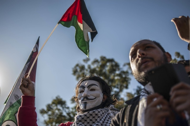 SOUTH AFRICANS PROTEST FOR GAZA IH 8