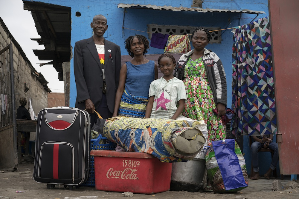 An Angolan family returns home after decades as refugees in the DR Congo