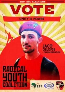 Jaco Oelofse EFF SRC poster