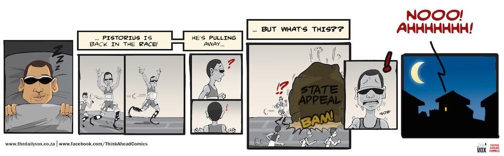 Oscar pulls away cartoon