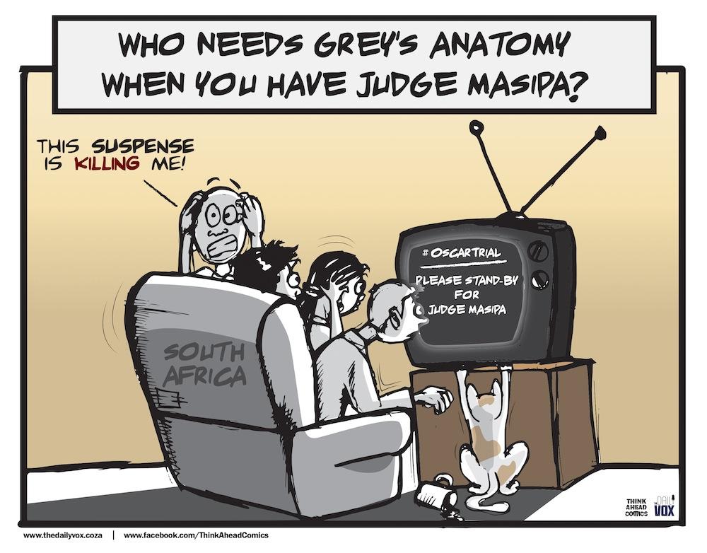 Oscar trial cartoon