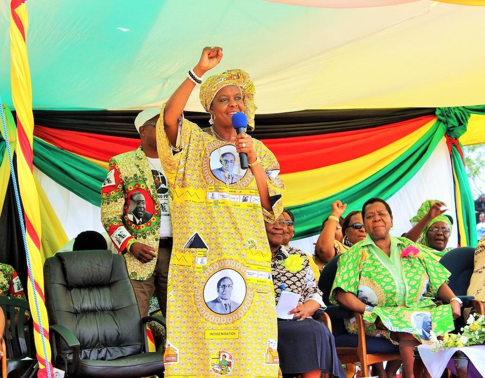 Grace Mugabe 1