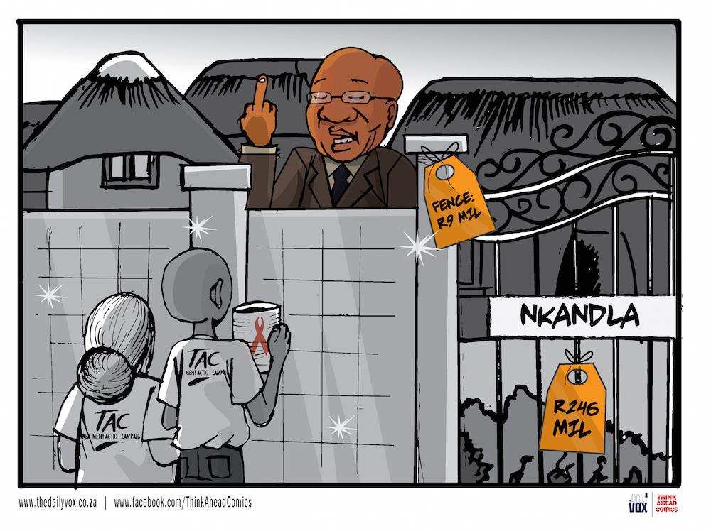 Nkandla TAC [cartoon]