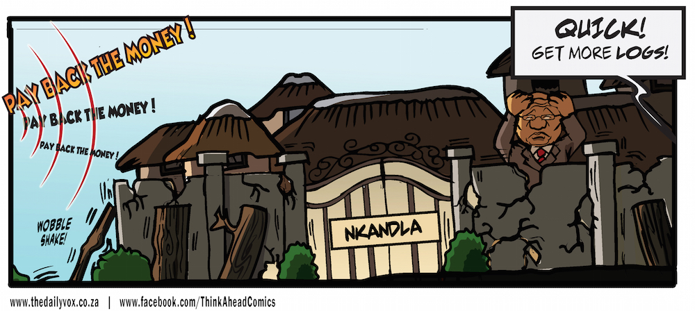 Nkandla wall [cartoon]
