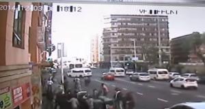 Durban flat fire family jumps [screengrab]