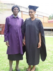 Thinavuyo Makhokha and gran