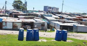 Township shacks Khayelitsha [slider]
