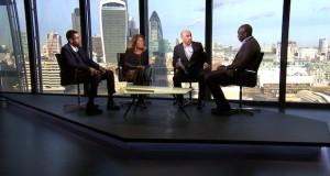 Sport Matters Panel2 (l-r Piara Powar, Heather Rabatts, Lee Wellings, Sol Campbell)