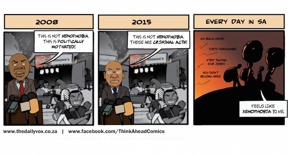 Xenophobia [cartoon]