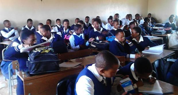 Class in Mount Fletcher [Zimasa]