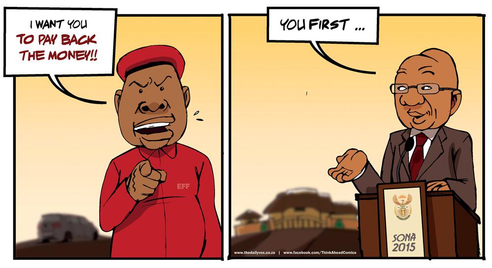 EFF VS Zuma