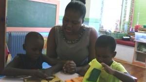 Blind kids teacher Zimasa 2