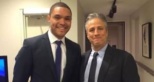 Trevor Noah and Jon Stewart for Daily Show