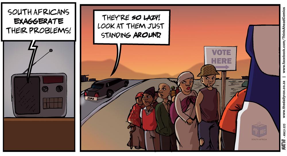 Zuma Lazy South Africans
