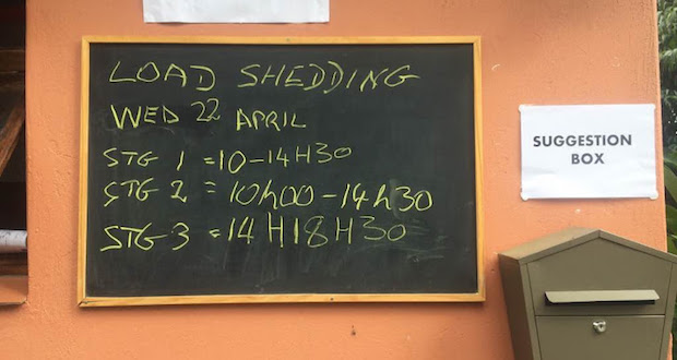 Loadshedding Schedule Hd: A Very Serious, Not-a-joke Letter To Eskom
