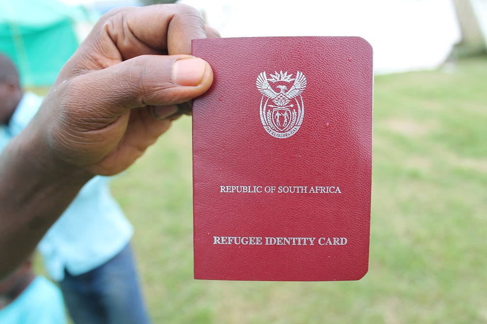 Refugee card