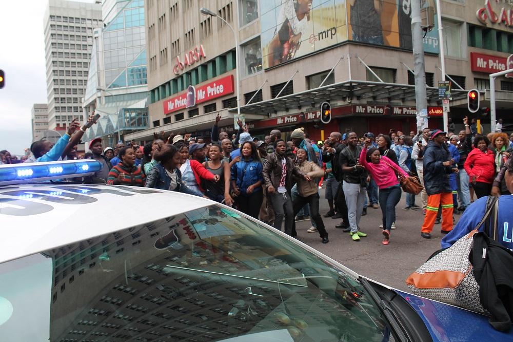 anti peace march