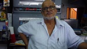 Ahmed Kajee,57, Self-employed, Durban CBD