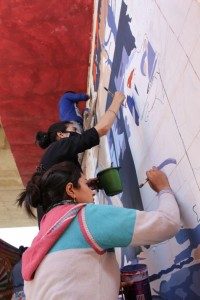 Kashmir mural painting 2