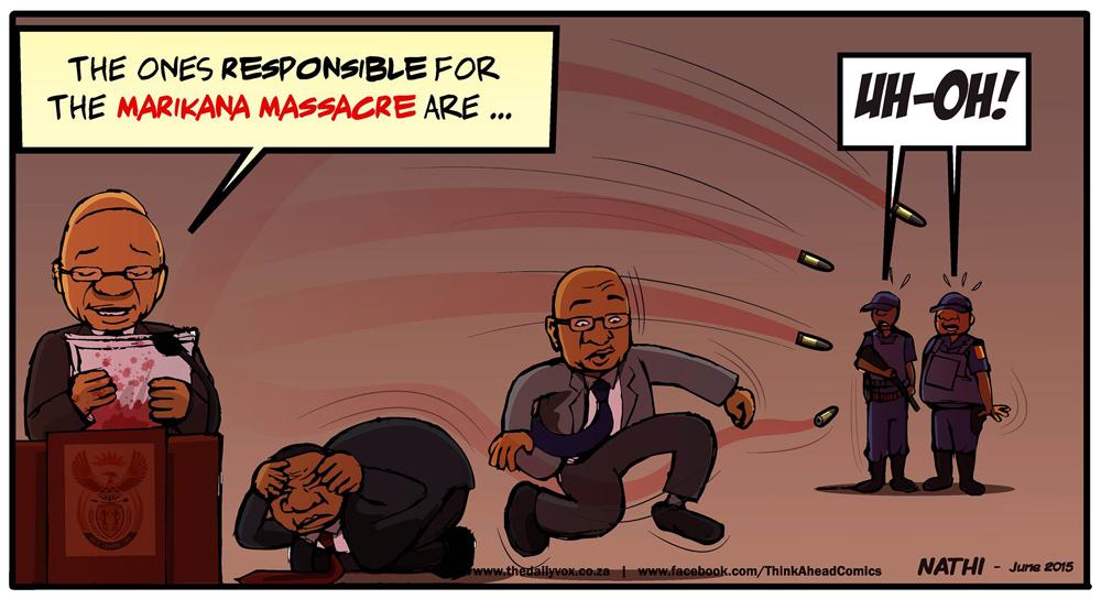 Marikana bullets