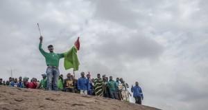 Marikana men on the koppie 2nd anniversary Ihsaan Haffejee [slider]