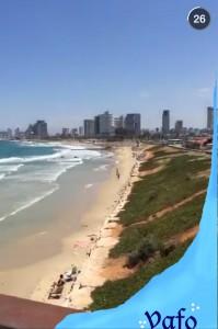Tel Aviv Snapchat 1