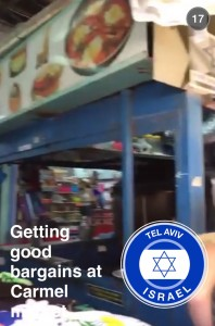 Tel Aviv Snapchat 3