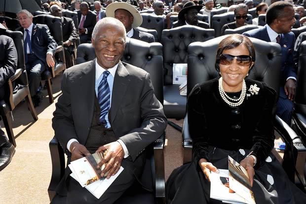 Zanele and Thabo Mbeki [gcis]