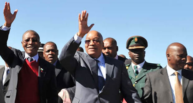 Zuma on a state visit to Lesotho 2012 [gcis]