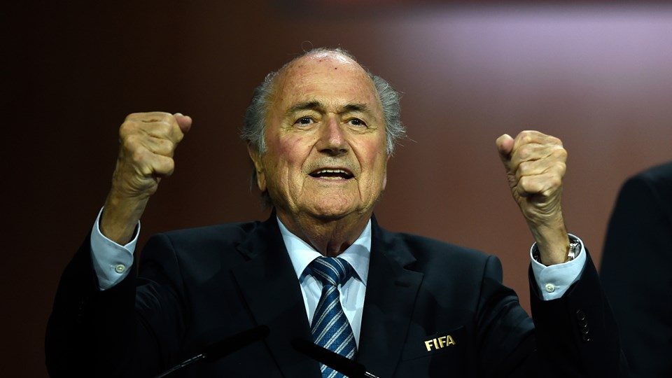 It is still not clear how Sepp Blatter lost his testicles [Fifa]