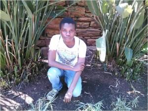 Katlego Mashiyane, 24, student, Mabopane