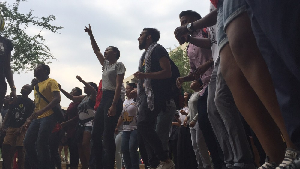 Wits fees protest 10