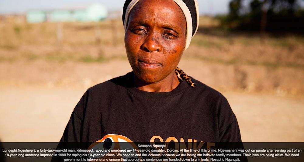 Nosapho Nqanqali [Sonke postcards]
