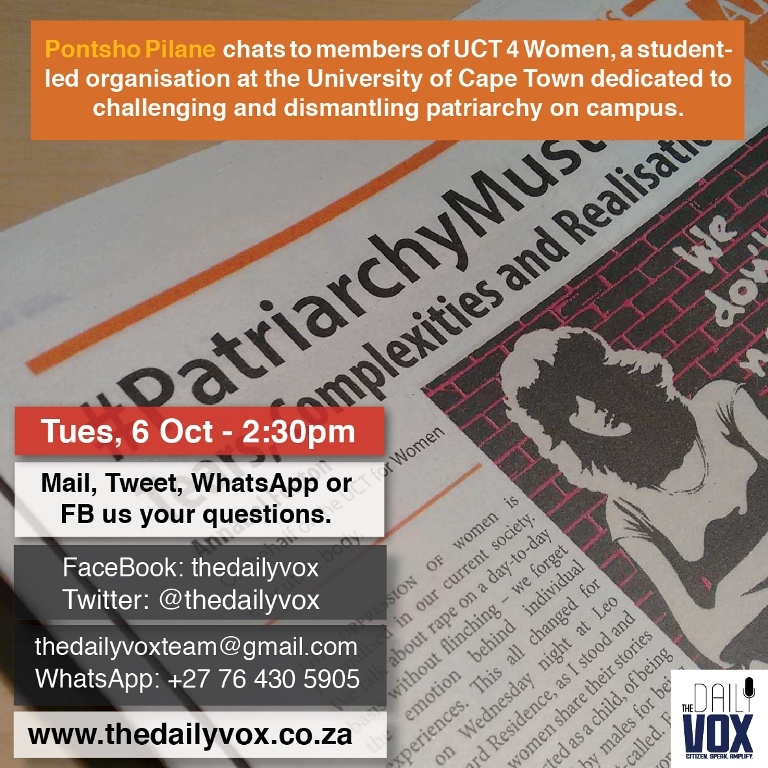 SMC UCT 4 women hangout