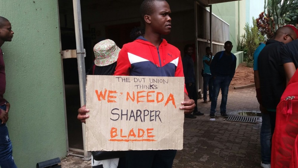 Sharper Blade at DUT [lizeka maduna]
