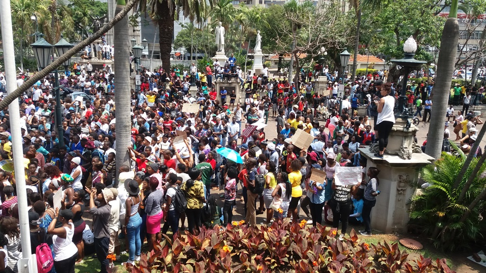 UKZN fees must fall protests 1