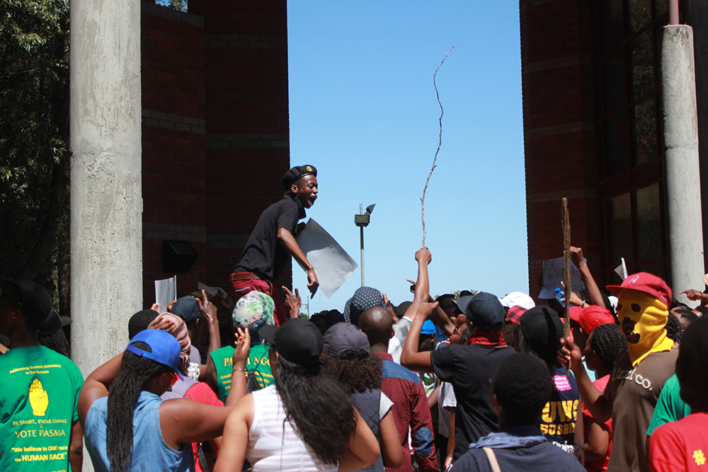 UWC Fees must fall protests 1