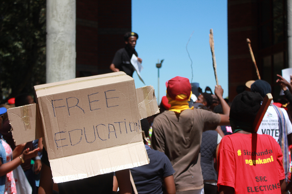UWC Fees must fall protests 2