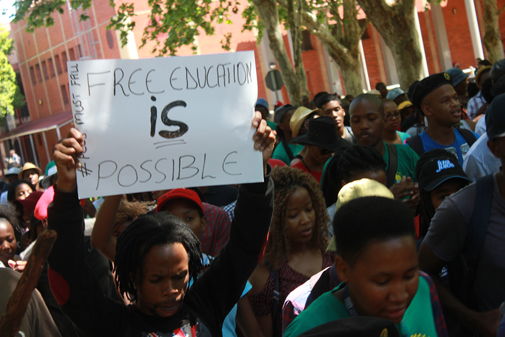 UWC fees must fall protests 4
