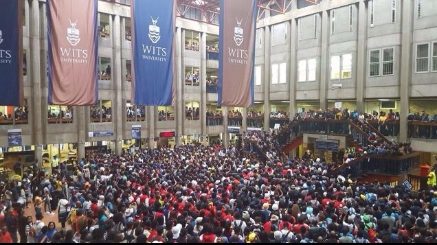 Wits fees protest Azra Karim 2