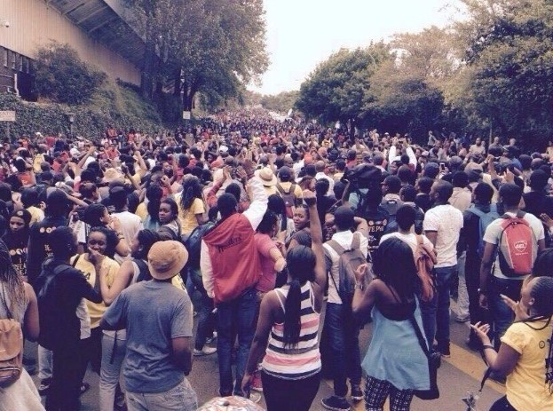 wits fees protest Azra Karim