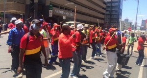 Pikitup strike Nov 2015