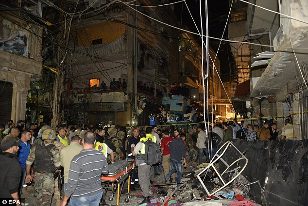 More deaths in Syria bombing campaign near Damascus - Lee ...